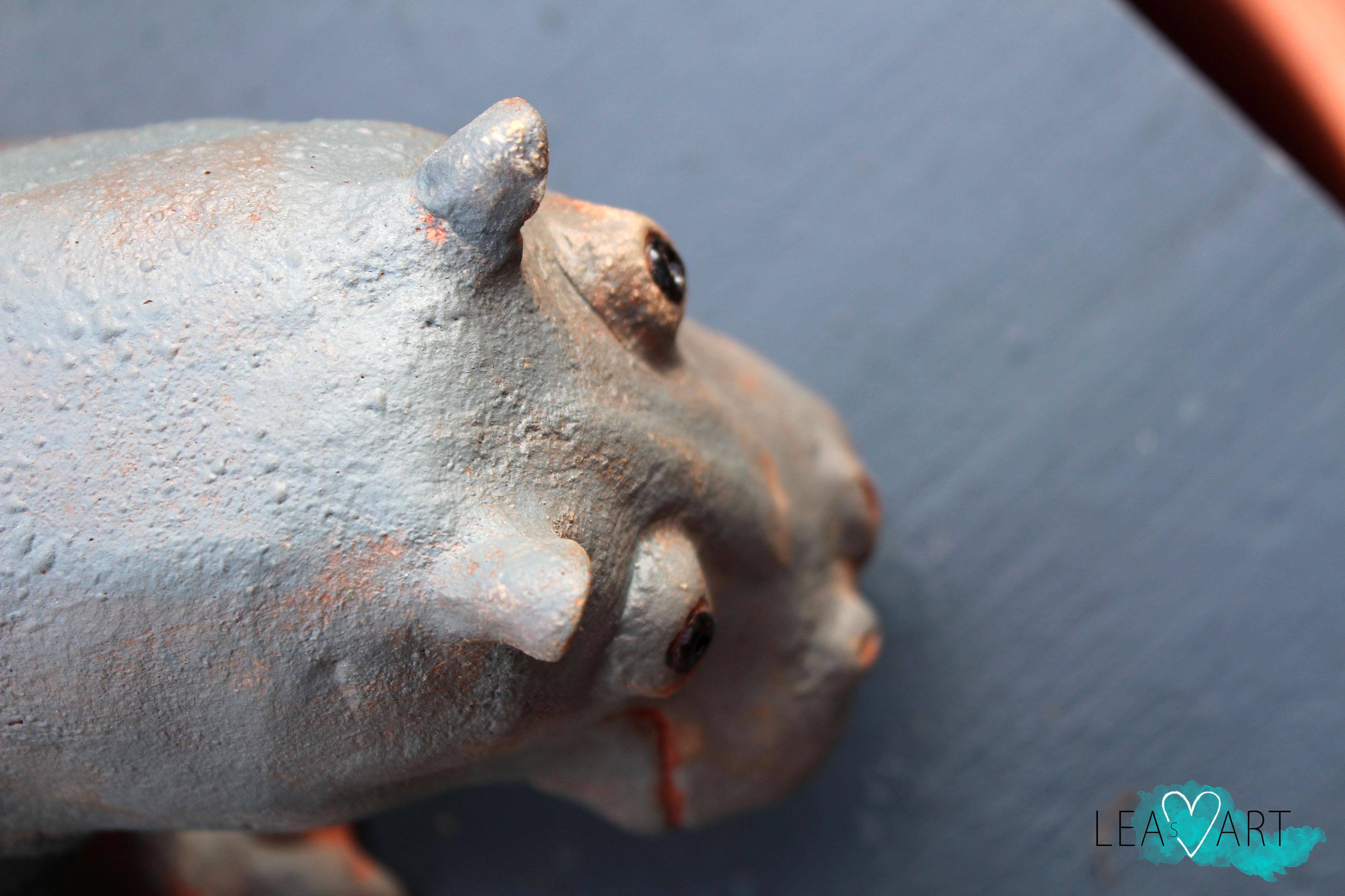 Flusspferd Detail