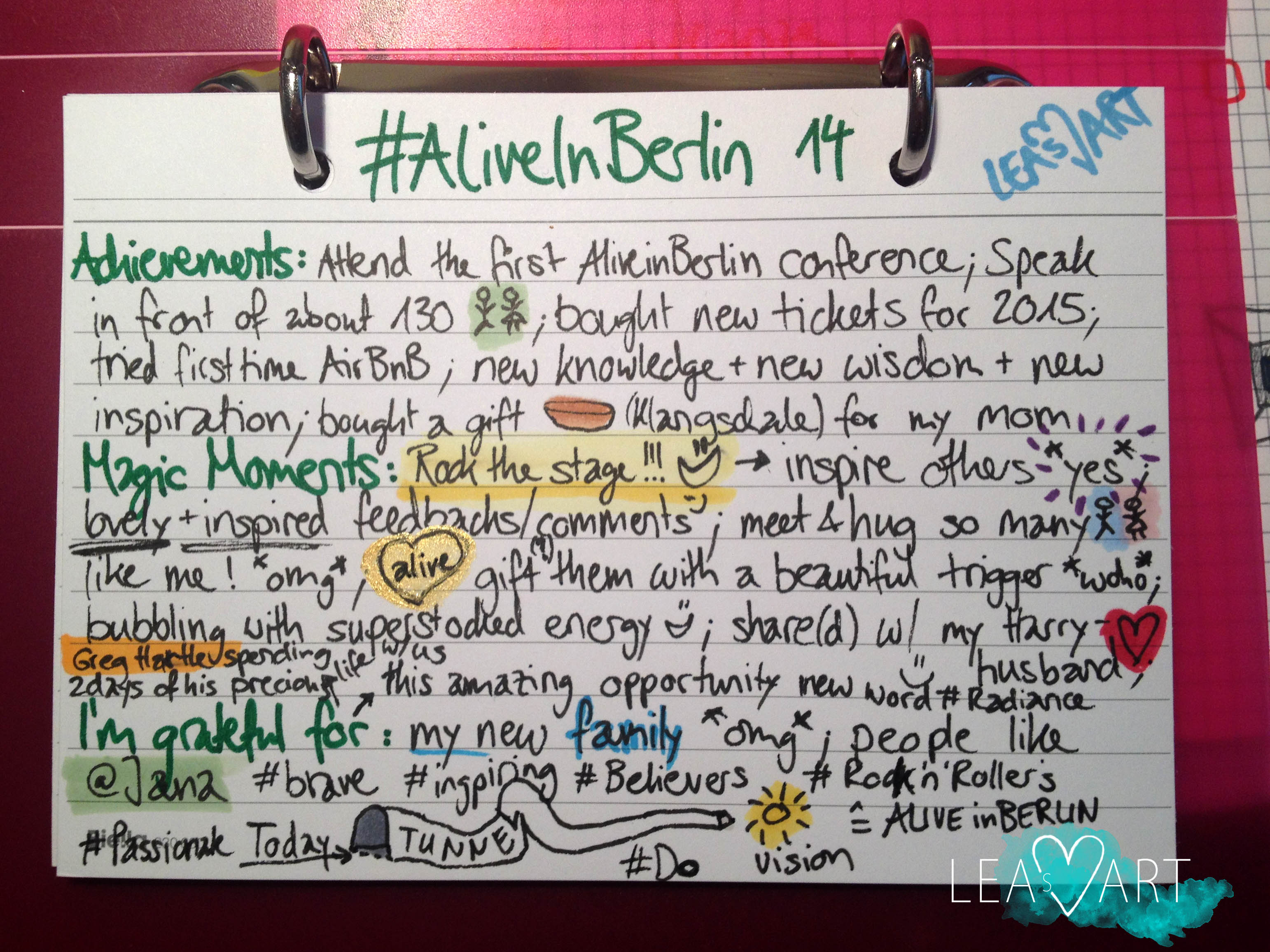 my achievements magicmoments gratitude from aliveinberlin achievements magicmoments gratitude