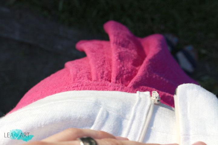 Detail Pink Skirt